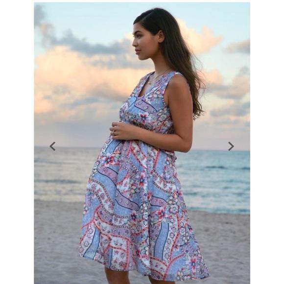 fdcd846c4425e Floral Print Maternity Dress NWT